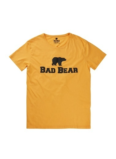 Bad Bear Tişört Hardal